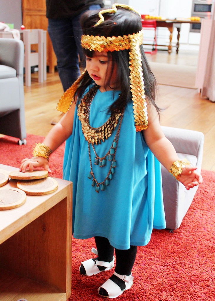 Princess costume for baby