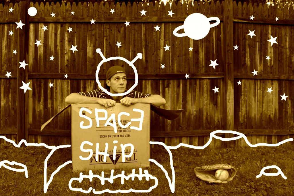 Pretend space ship