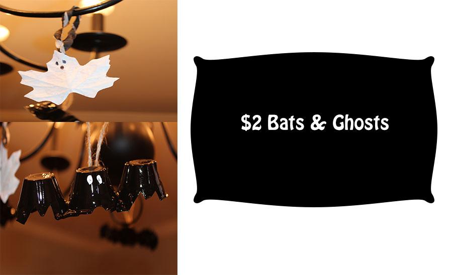 Bats & Ghosts DIY