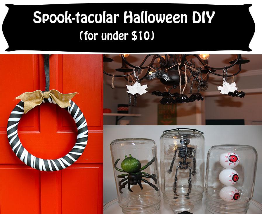 Spook-tacular Halloween DIY