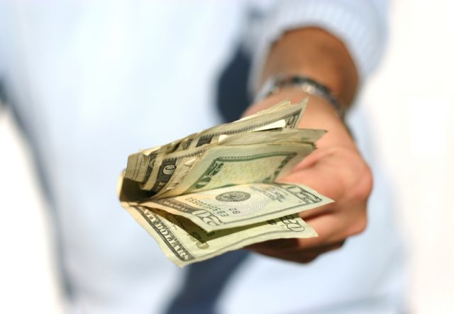 Picture of Hand with Money