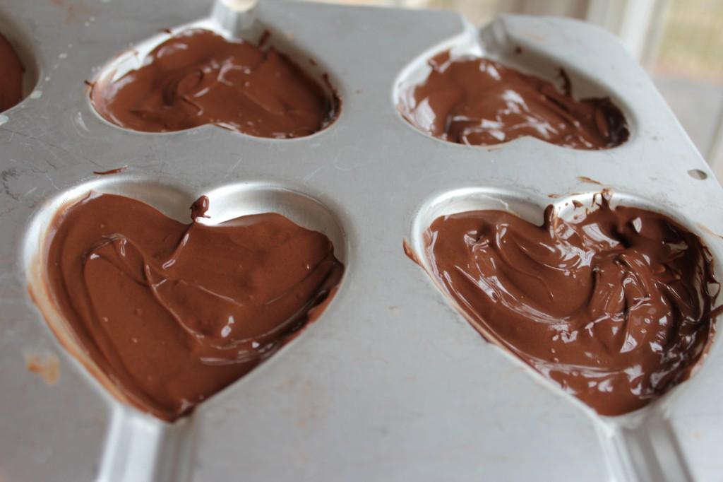 Homemade Chocolate PB cups