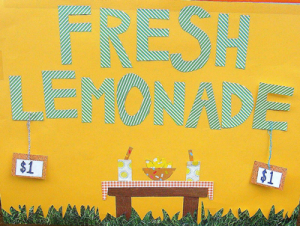 Picture of Lemonade Sign
