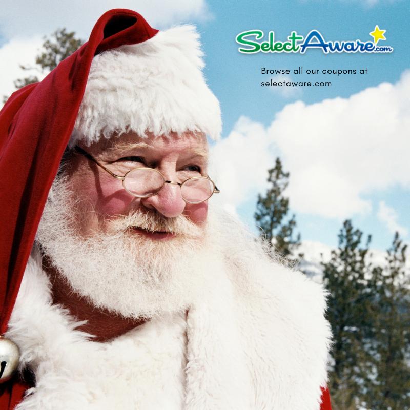 Santa in hat