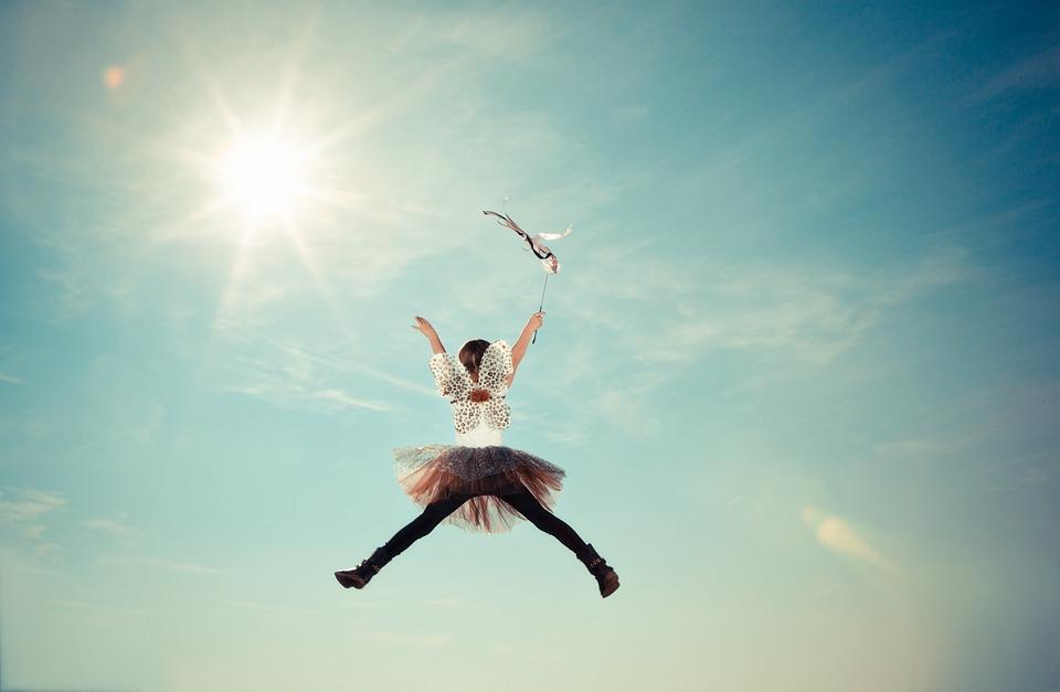 Fairy jumping