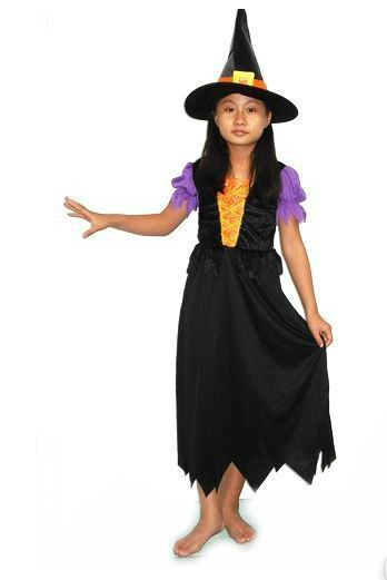 Little witch kid costume
