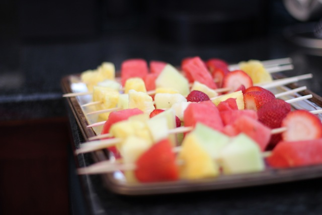 Picture of fruit kabobs