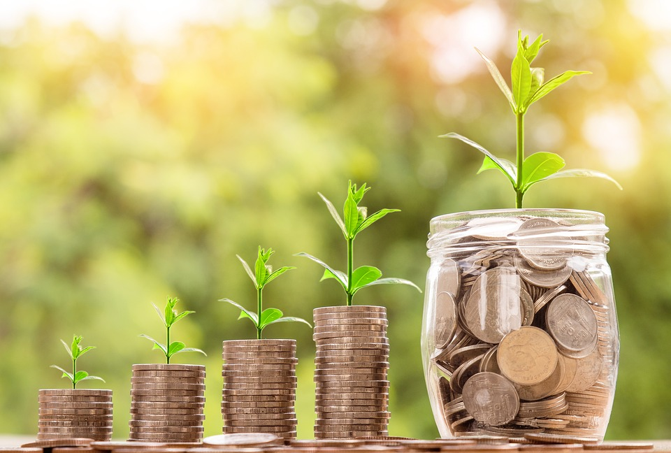 Growing money in a jar