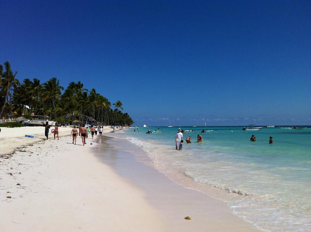 The Beach in Punta Cana, Dominican Republic