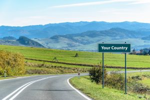 Your Country sign
