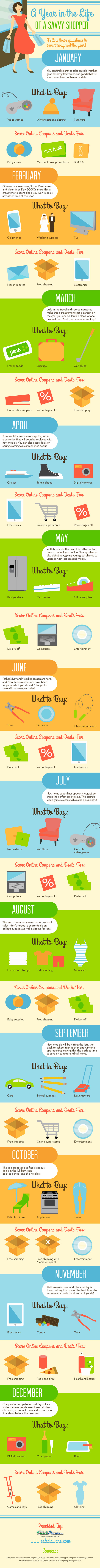 A Year in the Life of a Savvy Shopper - SelectAware